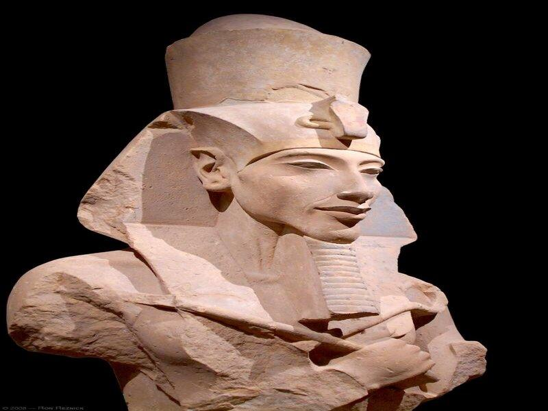 Akhenaten (the first Moses?) and the Resurrection of his Fallen Sun Cathedral