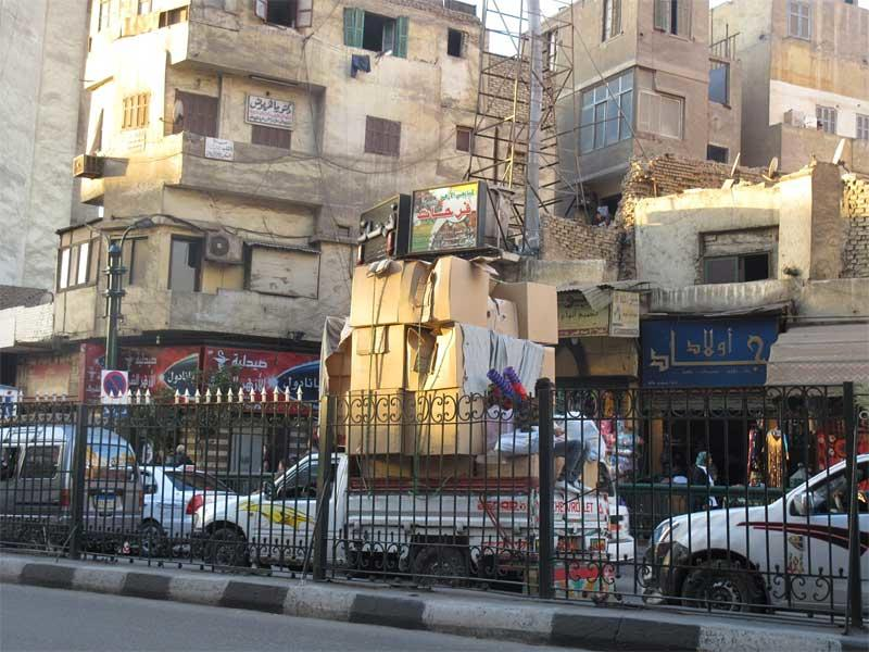 Day 1 – Crossing the Street in Cairo