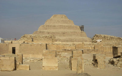 VLOG 7: Djoser's Step Pyramid – The Grand Entrance