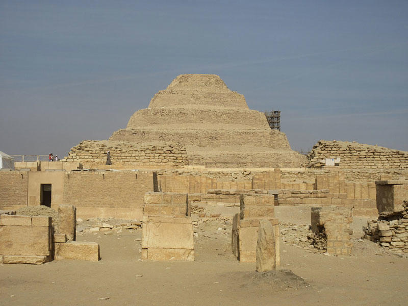 VLOG 7: Djoser's Step Pyramid – The Grand Entrance