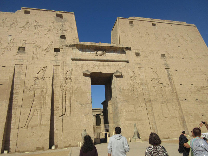 Caleche ride to Edfu temple