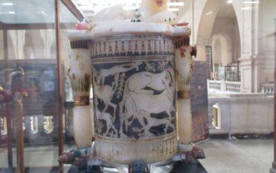 VLOG 5 – New Tut Treasure Found at Egyptian Museum – with Ramy Darwish