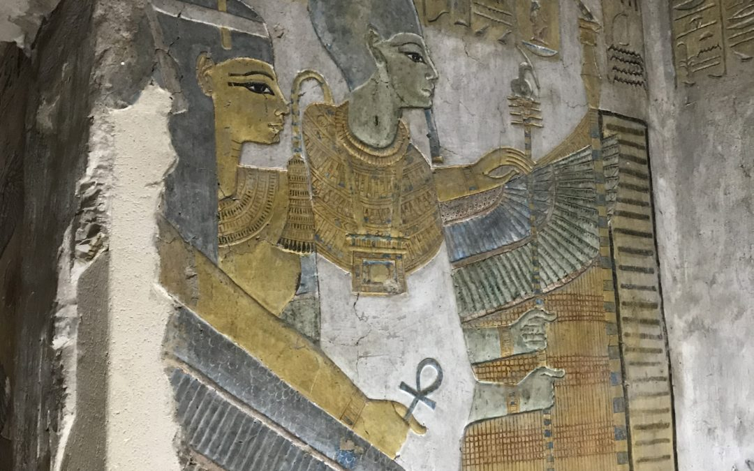 Think Like an Egypt: Conquering COVID with Positive Thoughts, Words & Images