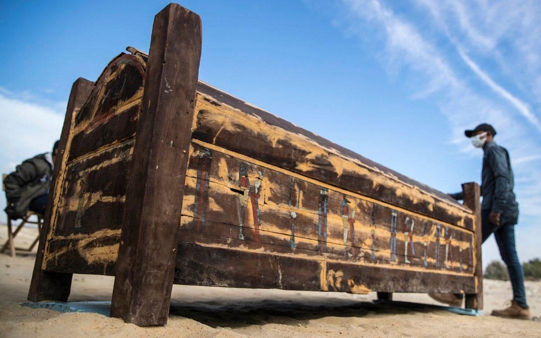 Secrets of Egypt: Saqqara, Saites and Sarcophagi