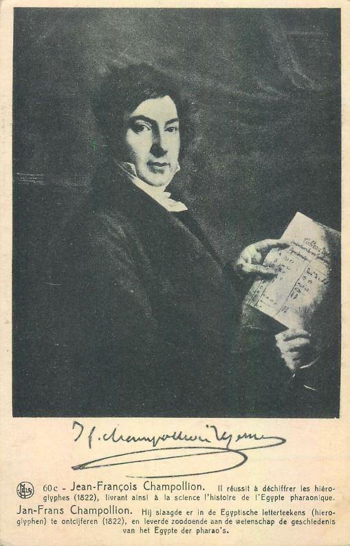 Jean Francois Champollion, French Egyptologist to Ancient Egypt, Archeology