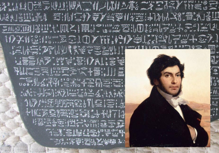 Jean Francois Champollion, Five Greatest French Egyptologists of all time, Archeology for Ancient Egypt.