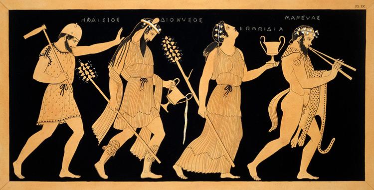 Antique vase, Ancient Greece Alive