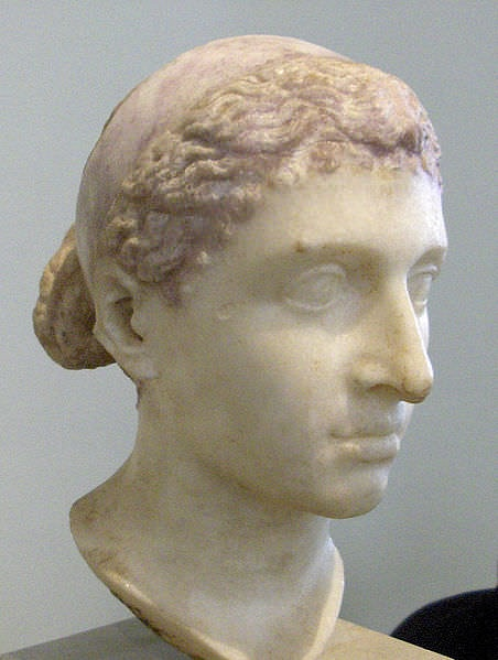 Bust of Cleopatra, Ancient Egypt Queen Pharaoh