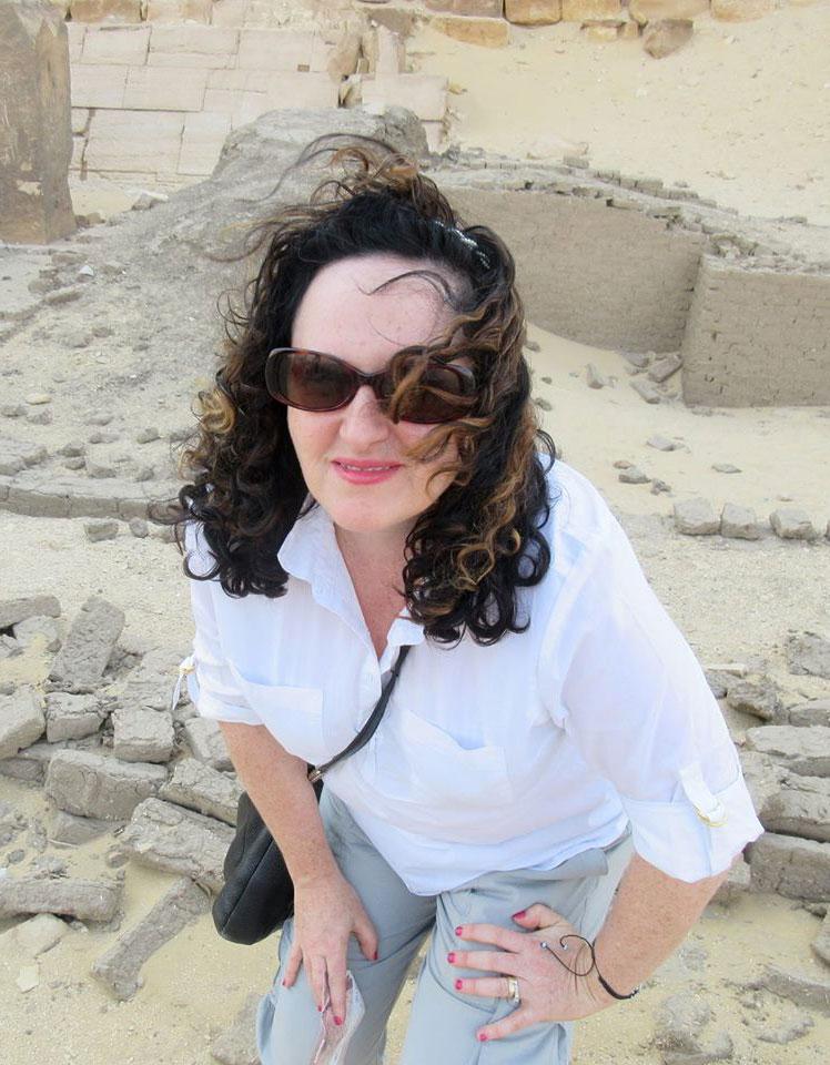 Laura in Egypt
