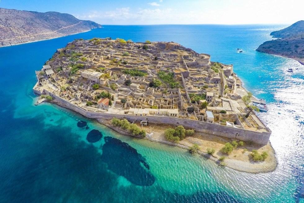 Spinalonga Islan, Crete