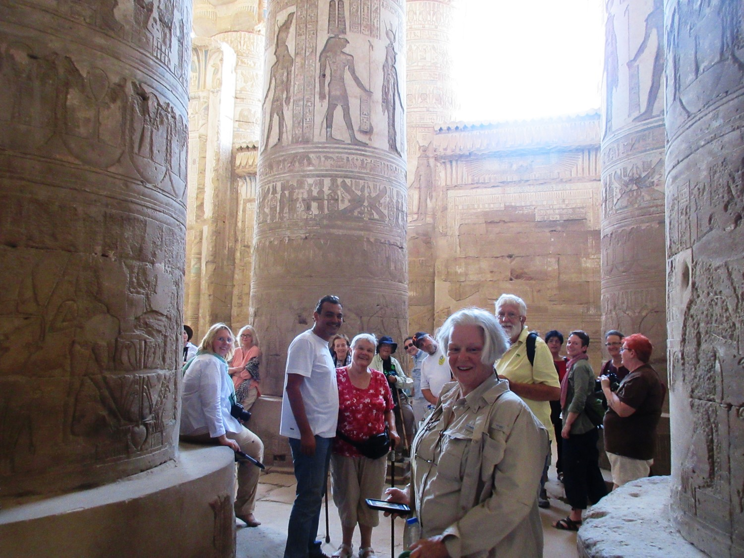 Inside Denderah with Laura